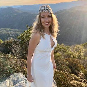 Halston Heritage White Gown, Size 6